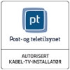 Post- og teletilsynet logo